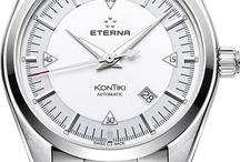 Eterna Watches / Eterna watches have superb craftsmanship. Striving for perfection. Never resting on our laurels, seeking new goals, searching out the right path. For one and a half centuries, Eterna's watchmakers have been working with unerring dedication and meticulous care to develop and manufacture their masterpieces. http://www.jurawatches.co.uk/collections/eterna
