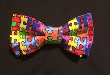 Bow tie with a cause / Autism tie