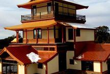 Custom Gold Metallic Metal Roof