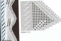 lace edges / patterns