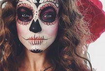 Maquiagem dia de los Muertos