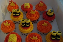 cupcakes fire