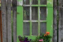 Ideeën voor de tuin / allerlei leuke tuin'dingen'