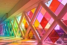 Cristaleras de colores