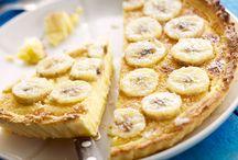 tarte coco banane