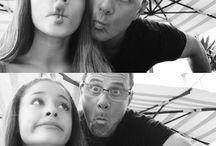 Ariana grande and father