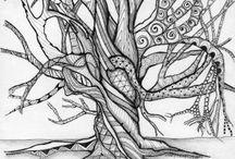 Natural Forms//Art / Inspiration for art work