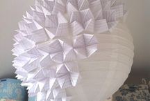 paper, fold + glue / by Lindsey Newns
