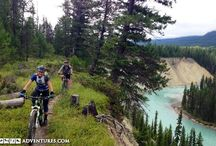 Mountain Biking Adventures / Explore the backcountry of Canada's mountain ranges by mountain bike and pedal where few cyclists have been.