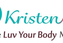 BRAND-Kristen Nolan / A collage of branding items we have created for our favorite fitness guru client Kristen Nolan at www.kristennolan.com