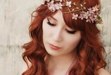 Floral headdresses and wedding flowers