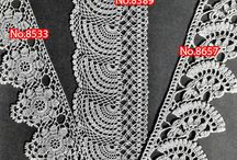 Crochet Edging Patterns / All kinds of vintage edging patterns, for any edging project you're working on! Towels, pillow cases, placemats, napkins, clothing - anything you can think of! These edgings are highly adapable to any project idea.