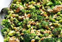 ensalada de broccoli asiatica