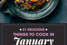things to cook in January