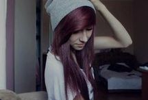 Hair / Emo hair and hair I would love to have  / by Ainsley
