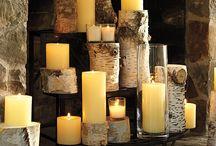 Home - Fireplace Candlabra Ideas / by Sheila Brink Addison