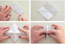 IQ lámpa papírból origami