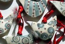 Pottery - ornaments