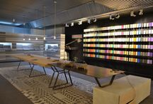 Showrooms Cement Design / Cement Design #Showrooms all over the world