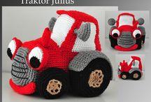 traktory a auta