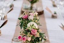 Centres de tables mariage