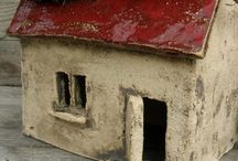 Ceramic Houses by Marta Wlazlinska