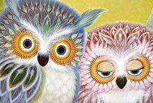 Owls  / by Diana Thorold