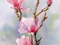 Blumen,virágok festményeken