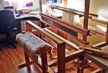 Krosno tkackie/weaving loom