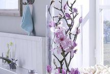Dekotipps fürs Bad zum Frühling