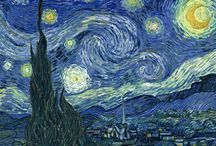 Van Gogh and Swirly Lines