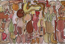 Fabrice Hybert : Mutations acquises / Mutations acquise Galerie Nathalie Obadia 8 rue Charles Decoster   1050 Bruxelles Jusqu'au 4 avril