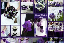 My Wedding ideas black white and purple / by Tiffany Nease-Thompson