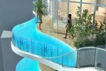 amazing pools and houses