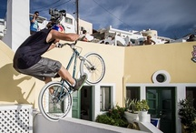 Red Bull Parkour in Santorini