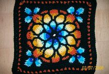 Crochet Granny Squares & Circles / Different Granny Squares & Flat Circles / by Gina Hall