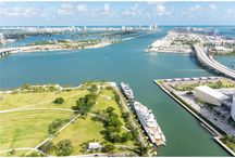 RENTED ~  900 Biscayne Blvd #4502 / ENJOY UNOBSTRUCED SUNRISE & SUNSET BISCAYNE BAY & CITY OF MIAMI VIEWS! 2 bedrooms convertible to 3 + 3 full baths. 24x24 light gray stone flooring throughout the unit & 2 spacious terraces. Kitchen w/light gray & beige granite counter tops, white Oak Italian cabinetry, Miele & SubZero apps. Private elevator entry Foyer plus separate service entrance. 10' ceilings. Amenities include 2 pools overlooking the bay, spa, private movie theater, kids room, 24 hr security , concierge and doorman. $4,200