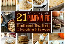 Pumpkin! / All things pumpkin and delicious!