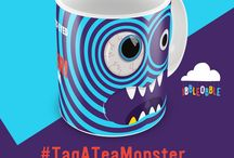 #ibbleobble #TagATeaMonster #Competition #Win / Hands up who needs a tea (or ten) to wake you up in morning? We have created these super-fun 'Googly eyed monsters' mugs ideal for your perfect cup of tea to start the day!  For a chance to win one your very own mug, you simply have to tag a fellow tea monster followed by the hashtag #TagATeaMonster here www.iblobl.com/mug-blue and www.iblobl.com/mug-black.   Easy-peasy!