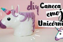 DIY Mugs / Canecas, copos e taças personalizados.
