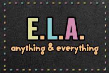 Anything & Everything ELA / Awesome ELA resources