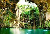 Viaje a Méjico, Guatemala y Belice. / Explorando el mundo maya entre las selvas tropicales y las playas del Caribe http://mint57.com/viajes/viaje-mexico-guatemala-belice/