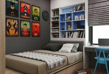 Ιδέες για το υπνοδωμάτιο αγοριου.