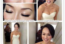 Wedding makeup Asian