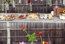 Backyard BBQ ideas / BBQ parties