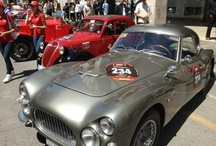 #Fiat1000Miglia / A 1952 Fiat 8V.  During the 2012 Mille Miglia, John Elkann - Chairman of Fiat - will be at the wheel of one of the limited number vehicles, accompanied by his wife Lavinia Borromeo, as navigator and co-driver.    Follow us also on Twitter: @Fiat8V - @Fiatontheweb -  #Fiat1000Miglia -    www.fiat.it/8vmillemiglia