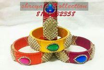silk thread bangels
