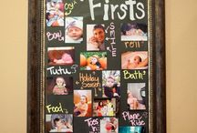 Wall Decor Family Photos / by Playground Talk
