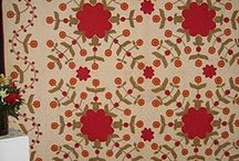 Red + Green = Love! / Red and green vintage quilt inspiration! / by Bonnie K Hunter