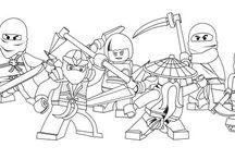 Ninjago / Related to Lego Ninjago series